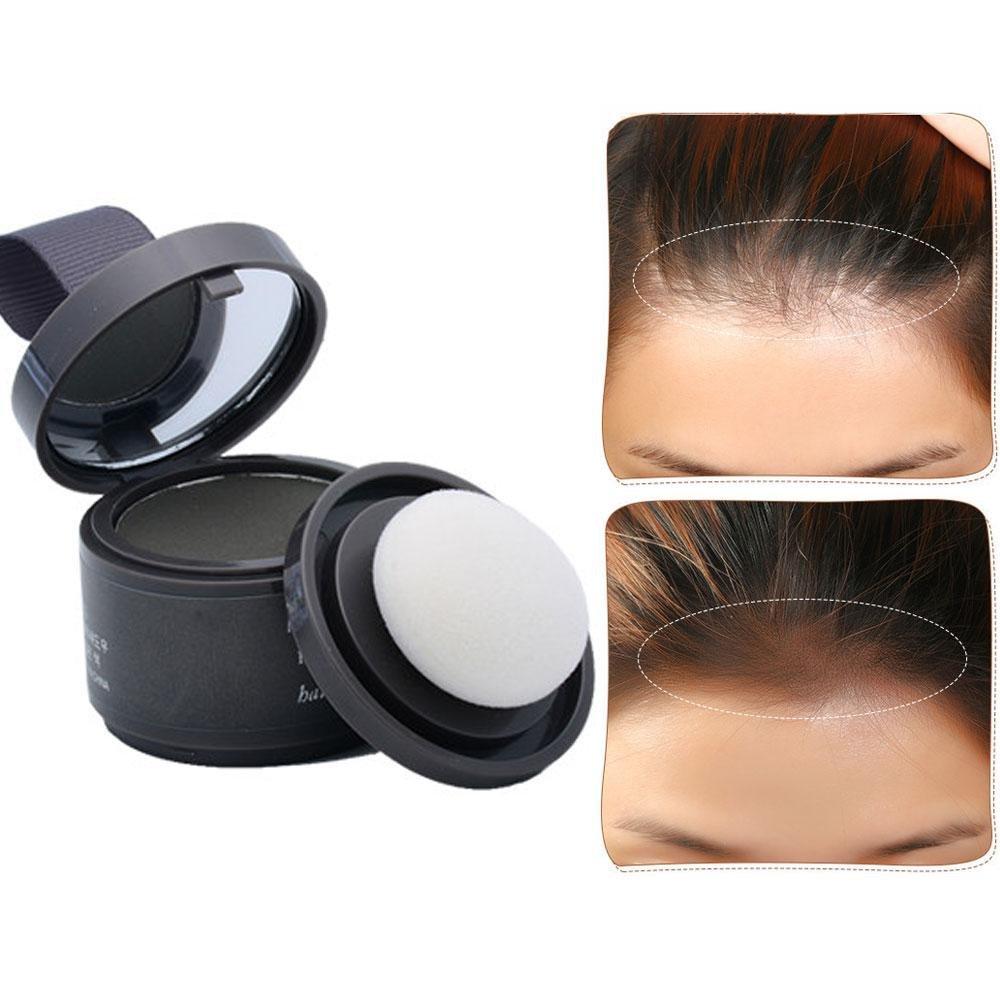 Hair Color Powder, LEEGOAL Water Resistant Hair Line Shadow Makeup Hair Coverage Concealer Powder Refreshes Hair