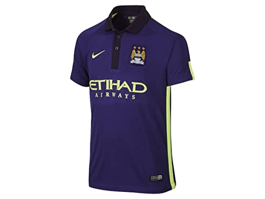 newest 349eb 7fa89 MANCHESTER CITY 2014/15 Junior Third Kit Shirt