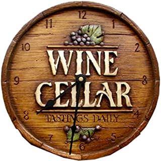 product image for Piazza Pisano Wine Cellar Wall Clock
