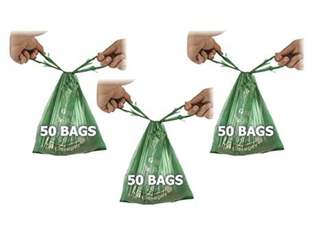 Amazon.com: Bolsa Scooper perro bolsas de residuos Refill ...