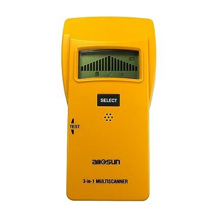 all-sun madera Stud Finder electrónico Sensor/Detector de metales de entramado de madera