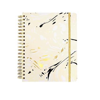 ban.do Design 2016-2017 Large 17 Month Agenda, Marble, Blonde (60214)