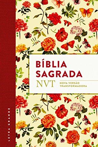 Bíblia NVT. Flores com Plano de Leitura