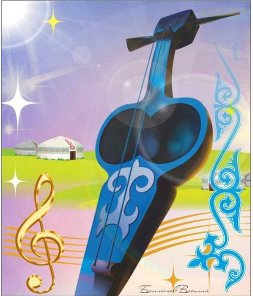 5D De Dibujos Animados Guitarra Diamante Pintura Punto De Cruz ...