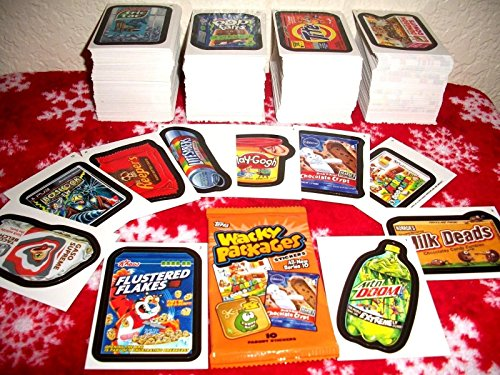 (Wacky Packages 2013 All New Series 10 {ANS10} LOT of Thirty Different Stickers + 2 Cereal Killer Cards.)