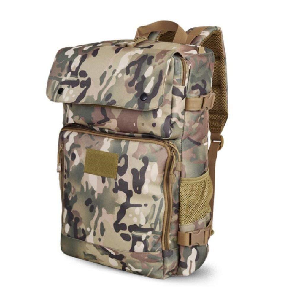 BO Outdoor Rucksack Outdoor Männer und Frauen Allgemein Wandern Camouflage Rucksack, wasserdicht, praktische Tragen, Reißen, Student Computer Tasche, Camping, Reiten Tasche