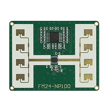 Amazon.com: fm24-np100 24 Ghz módulo de Sensor de microondas ...