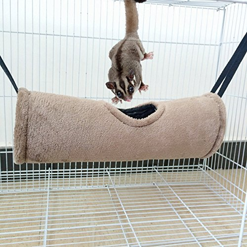 House Tunnel Rokoo Hammock Ferret Durable Rat Hamster Cave Para Toy Plush Hanging Squirrel Passageway Pet Hvrn4HC