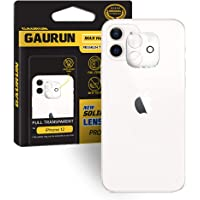 GAURUN iPhone 12 pro Camera lens full cover tempered glass film - Anti-lighting(1Pack)