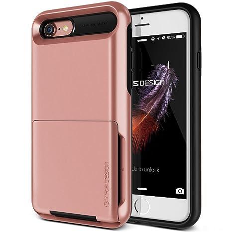 531c94c281d Funda iPhone 8, Funda iPhone 7, VRS Design [Damda Folder] [Rose Gold]:  Amazon.es: Electrónica