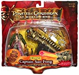 Pirates Of The Carribean 3: Deluxe Sao Feng with Empress Dragon Cannon and Singapore Pirate Weapons