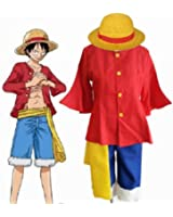 Fantasycart ONE PIECE 2nd generation Monkey D Luffy Costume After 2 years size L