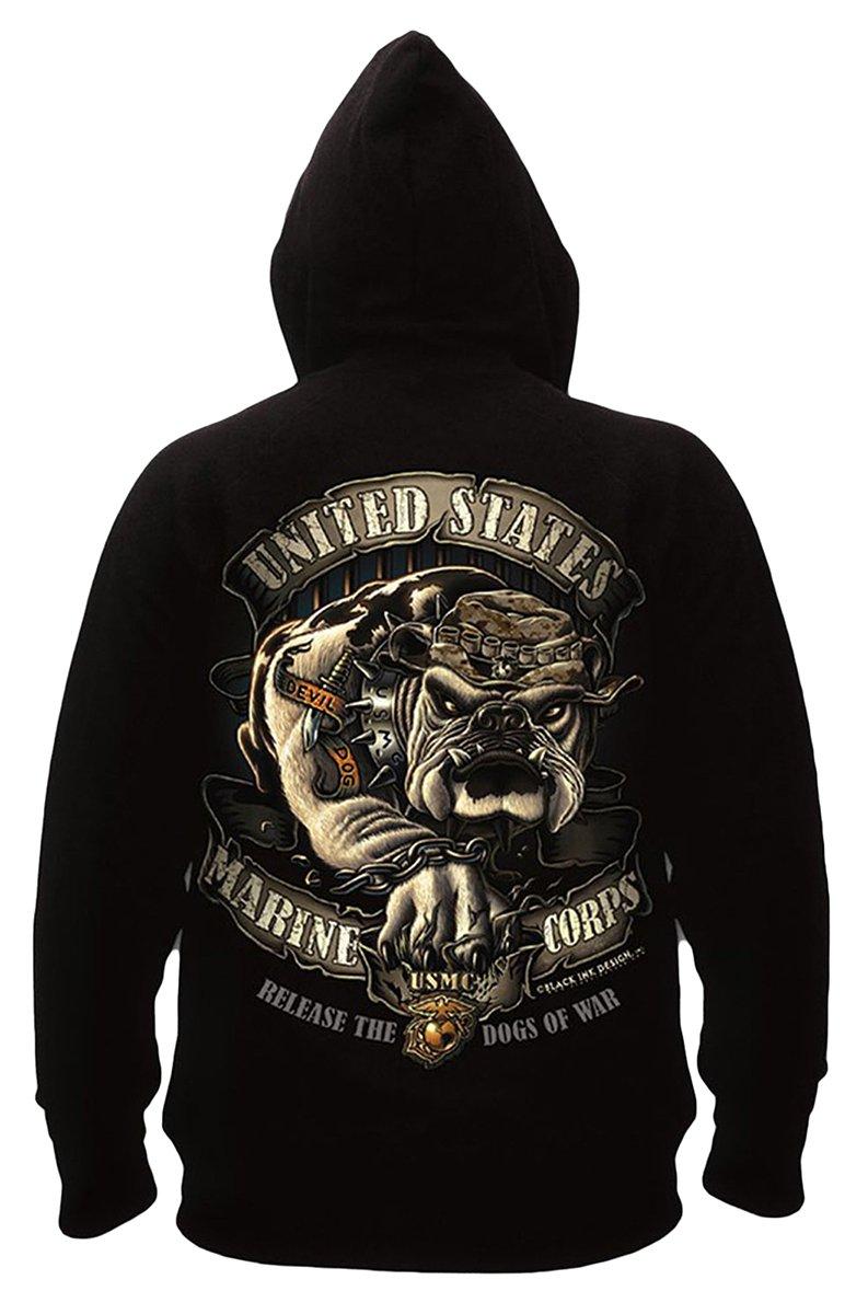 ROTHCO at Bi USMC Bulldog Hoodie