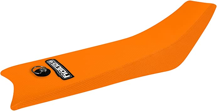 Enjoy MFG Seat Cover Compatible Fit for 2016-2020 KTM SX 65 All Orange Full Gripper Seat Cover