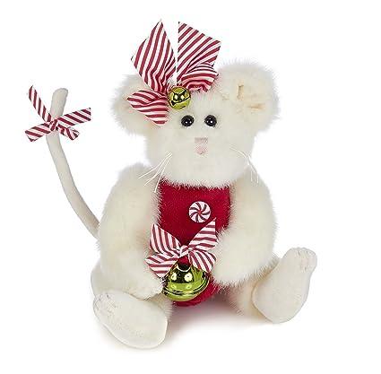 Amazon Com Bearington Collection Miss Mousetails Christmas Plush