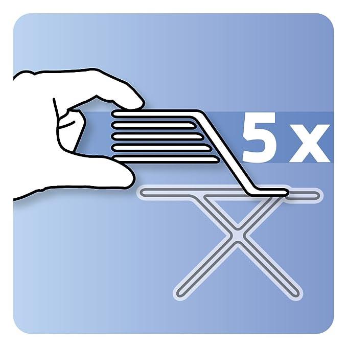 B/ügelbrettbezug LaundrySpecialist/® Active Gr/ö/ße L//XL B/ügeltischbezug speziell f/ür Dampfstation B/ügeleisen