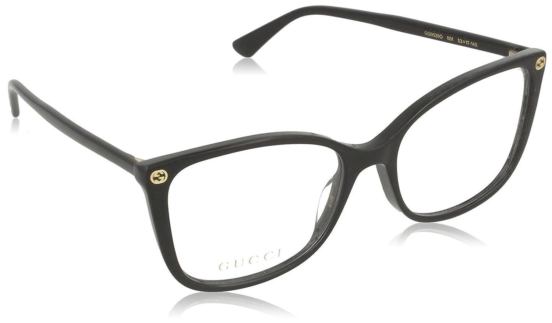 Eyeglasses Gucci GG 0026 o- 001ブラック/   B06XCD56H1