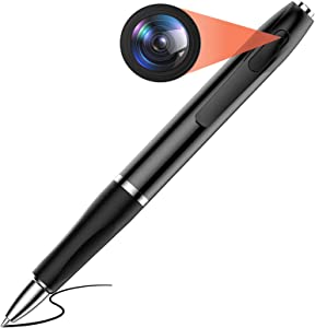 Mini Hidden Camera Pen Spy Camera HD 1080P Video Recorder, Spy Gear Body Camera Portable Pocket Camera 150 Minutes Battery Life with 32GB SD Card for Business Conference and Security