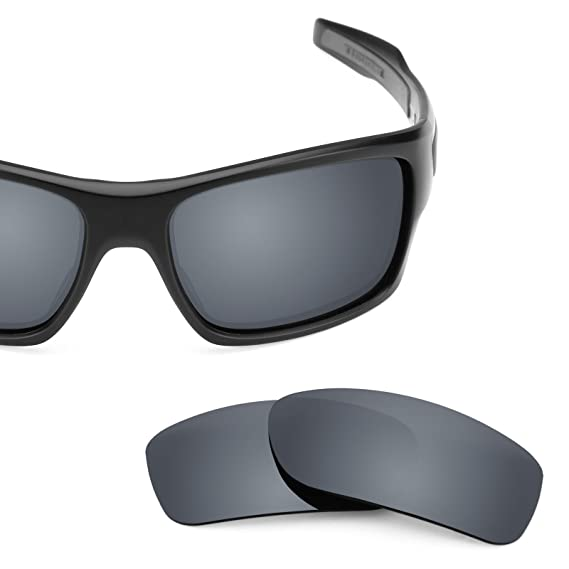 f157183b7de Revant Polarized Replacement Lenses for Oakley Turbine Elite Black Chrome  MirrorShield®  Amazon.co.uk  Clothing