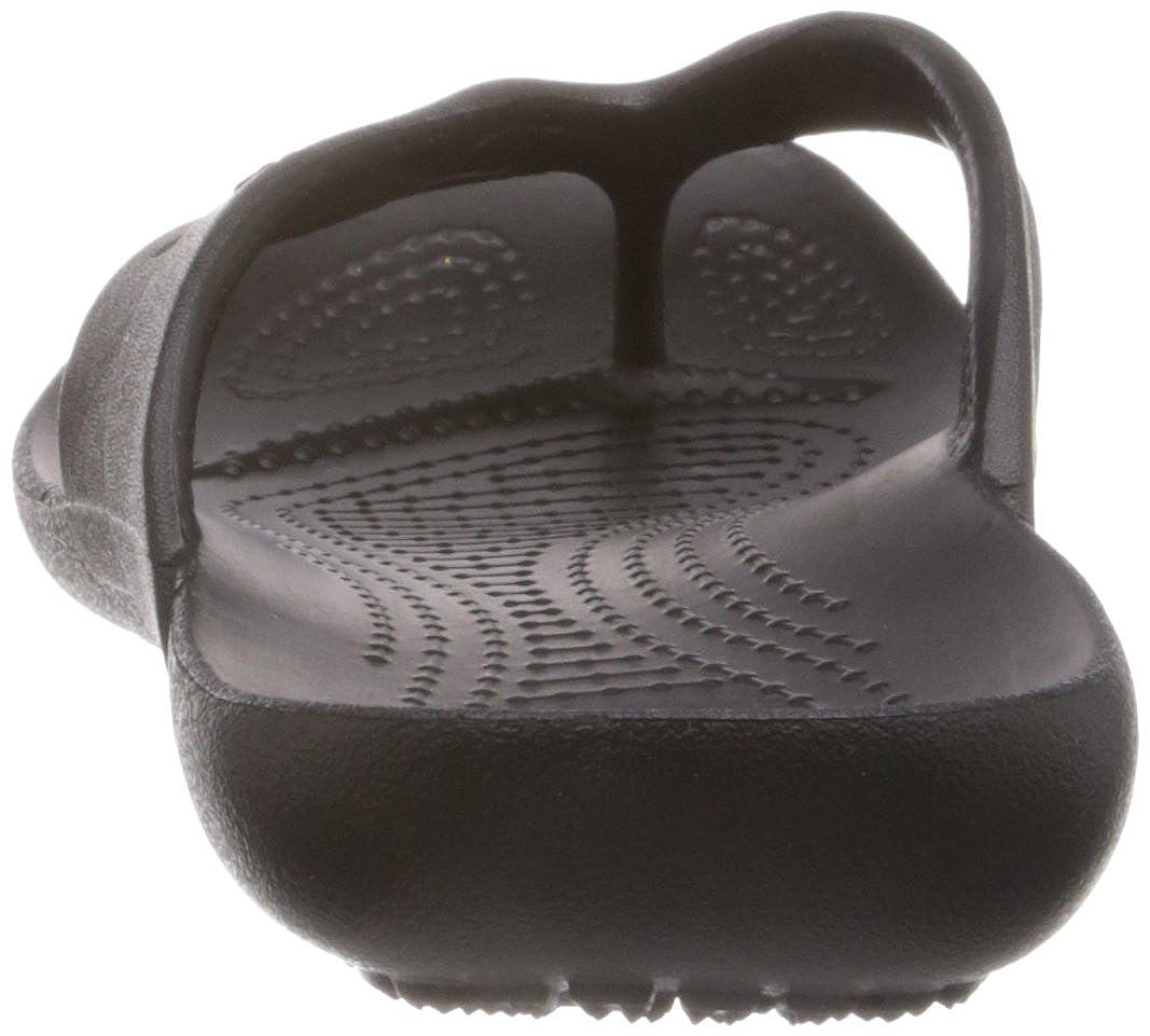 Crocs Damen Kadee Flip-Flop Flip-Flop Kadee Damens Zehentrenner Schwarz (schwarz) bad400