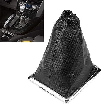 Speedwav Car Gear Lever Leatherette Cover Black For Chevrolet Beat