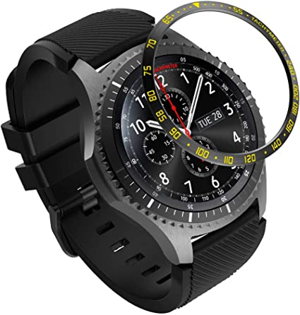 XIHAMA Bezel Compatible con Samsung Galaxy Watch 46mm / Gear S3 ...