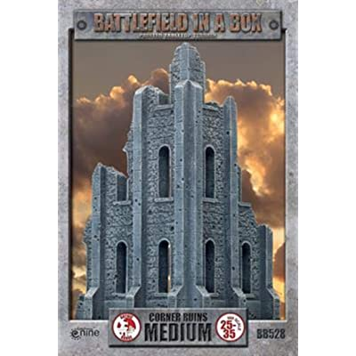 Battlefield in a Box: Medium Corner Ruin: Toys & Games