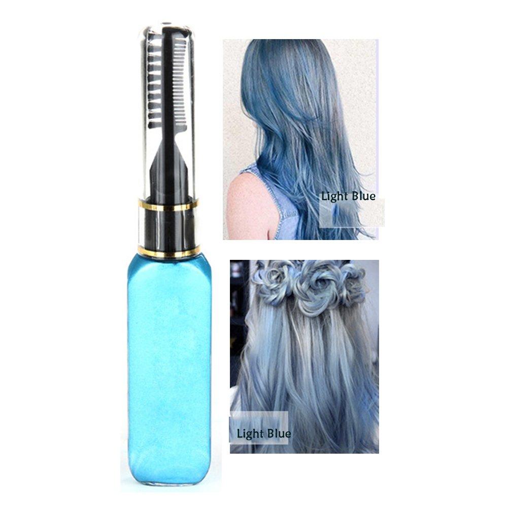 Molie Haar-Mascara, in Weiß, professionelle Haarfarbe, temporäre Haarfarbe in Weiß temporäre Haarfarbe