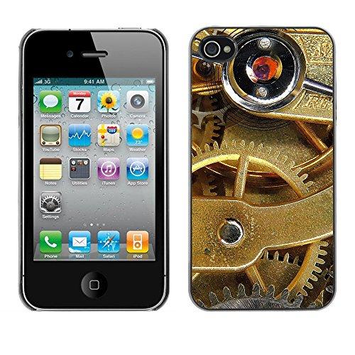 Premio Sottile Slim Cassa Custodia Case Cover Shell // F00008085 roue // Apple iPhone 4 4S 4G