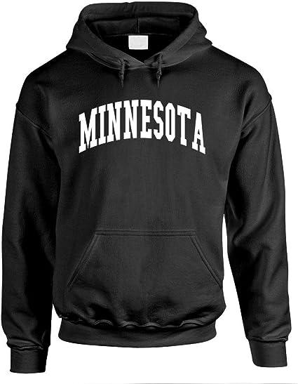 USA America State Pride Patriotic The Goozler Minnesota Mens Pullover Hoodie
