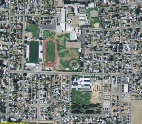 Fresno County California Aerial Photography on DVD