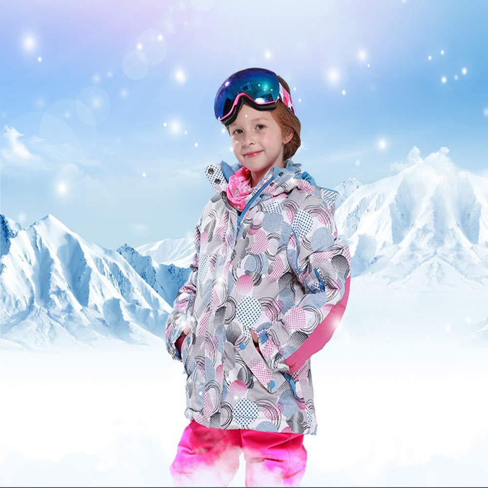 Yzibei Tuta Tuta Tuta da Sci Antivento Impermeabile per Bambini Giacca da Sci con Cappuccio da Snowsuit, Impermeabile, Caldo, Antivento, con Pantaloni, 2 Pezzi (Coloreee   Rosso, Dimensione   158)B07KVQRVSZ140 rosa | Buon design  | Spaccio  | Forte calore e resis 87c8bb