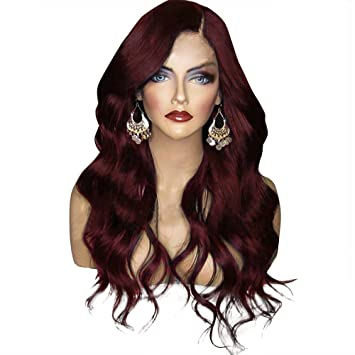 Amazon.com   Orgshine Synthetic Big Wave Long Curly Wigs For Black ... 6cadd863d7