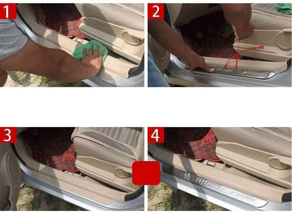 Einstiegsleisten Au/ßent/ürschwellerschutz Trittplatten Auto Zubeh/ör Sill Scuff Willkommenspedal Schutzabdeckung BNHHB 4 St/üCk Auto Edelstahl T/üRschwelle Kick Plates F/ür Nissan Qashqai j11 2015-2020