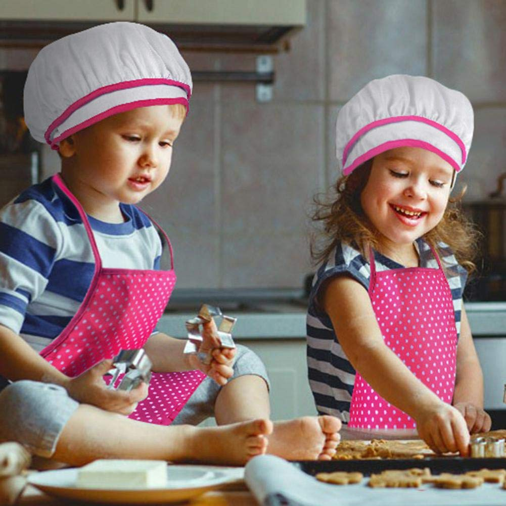 Aprons for Kids Kids Funny Kitchen Cooking Baking Hat Kitchenware Chef Role Play Toy Sets