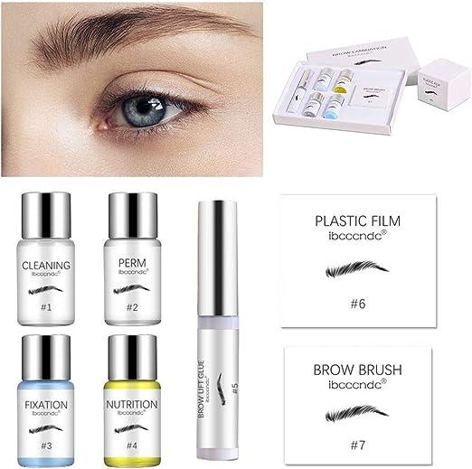 Maquillaje de ojos, kit de permanente de cejas Kit de ...