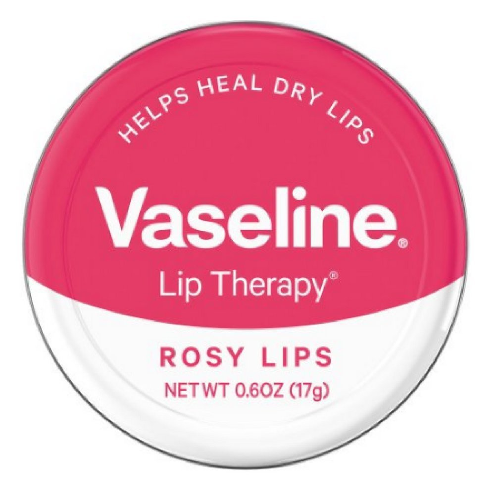 Vaseline Lip Therapy Lip Balm, Rosy Lips 0.6 oz (Pack of 10)