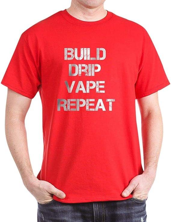 CafePress Build DRIP Vape Classic 100% Cotton T-Shirt