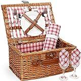 Picnic Basket for 2,Picnic Set Hamper with