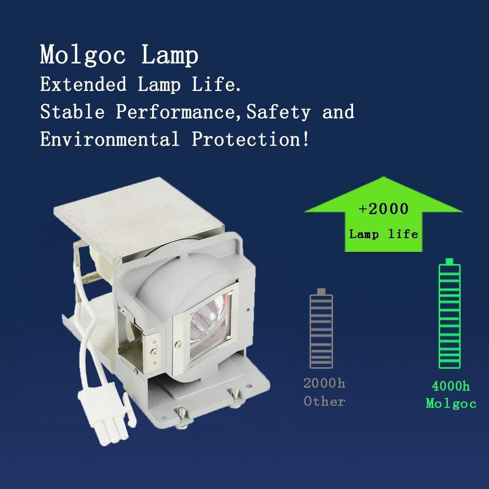 Molgoc FX.PA884-2401 Lampadina di ricambio per proiettore OPTOMA DS327 DS329 DX327 DX329 ES550 ES551 EX550 EX551 S29 X29i con alloggiamento