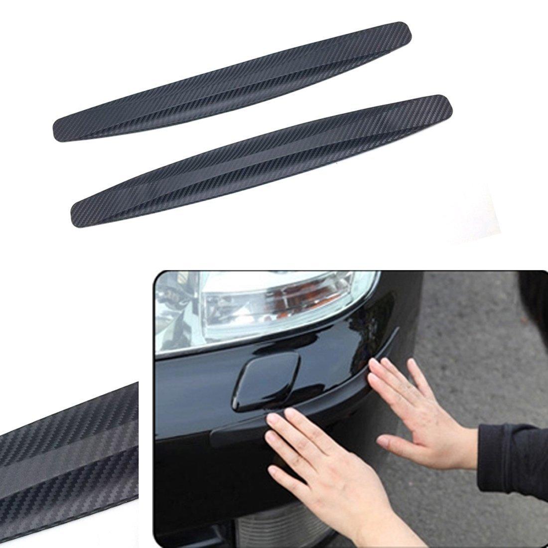ICTRONIX Paar Auto Vorne Hintere Stoß stange Schutz Streifen Abdeckung anti kratzer flexibel