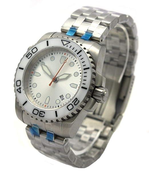 Professional automático cristal de zafiro reloj de buceo Pro Diver 100 ATM ep3620 Blanco bgw9: Amazon.es: Relojes