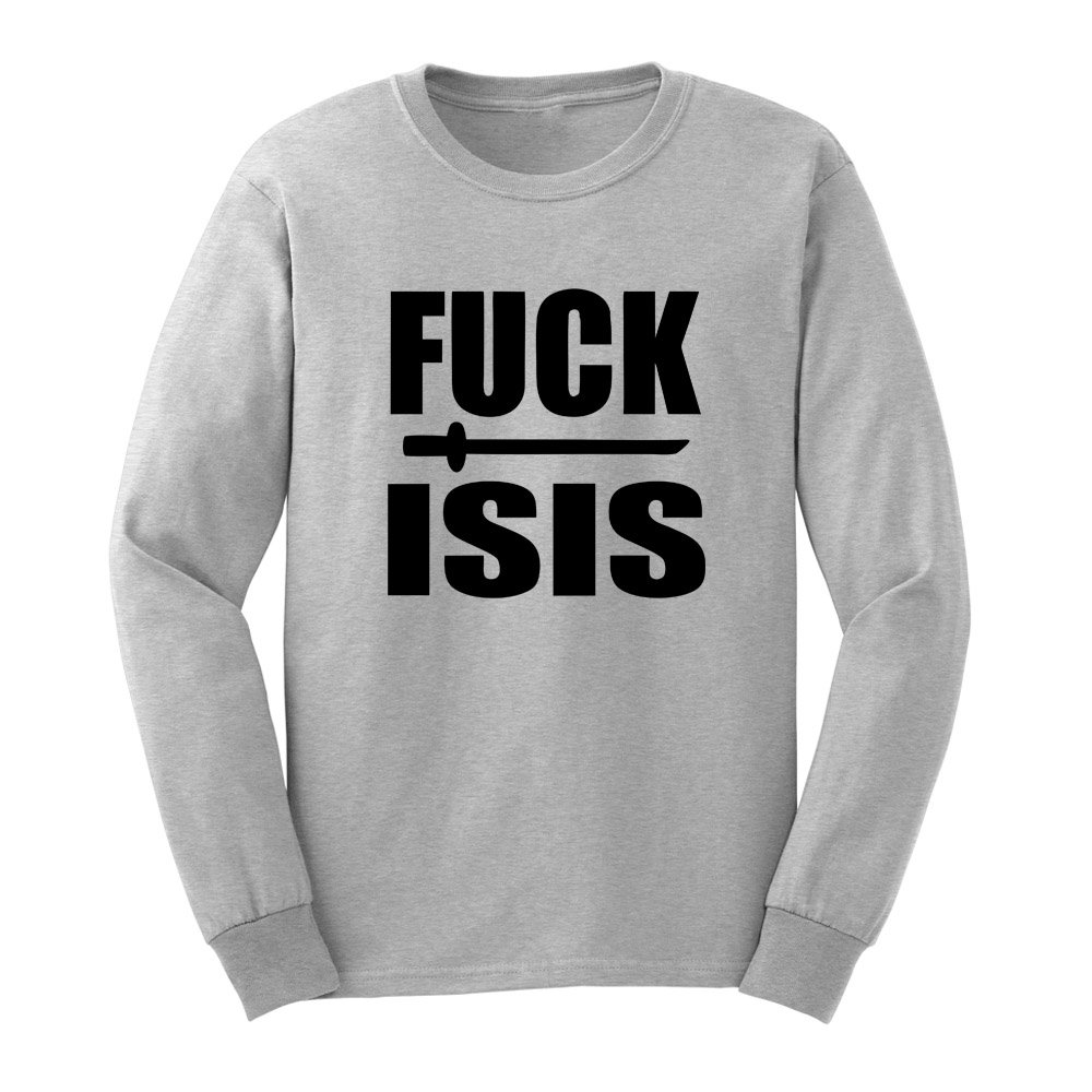 Loo Show S Fuck Isis Adult T Shirts Casual Tee