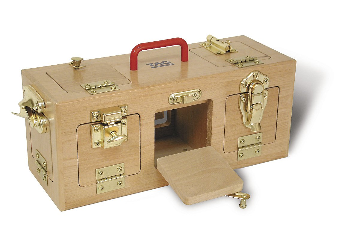 Memory Loss & Alzheimer's Dementia Activity /LARGE SIZE Lock-Station Center – for Memory & Mental Stimulation