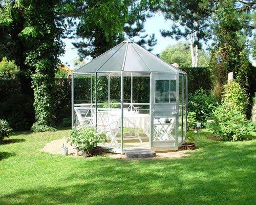 Eden Halls invernaderos Ltd pléyades Eden de aluminio: cristal - 6 mm policarbonato: Amazon.es: Jardín