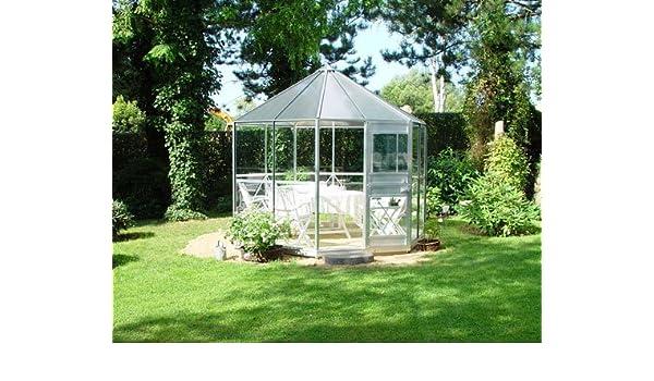 Eden Halls invernaderos Ltd pléyades Eden de aluminio: cristal - 6 ...