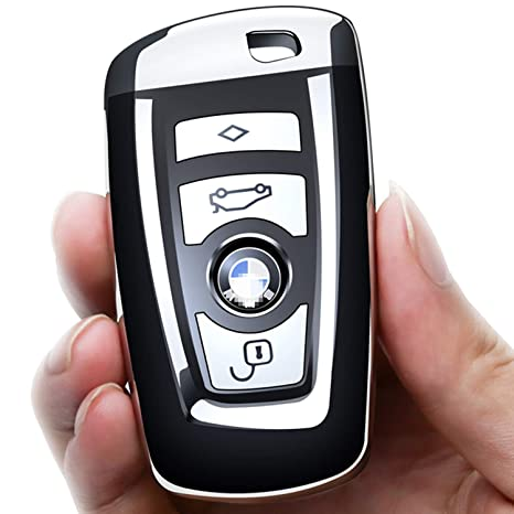 Amazon.com: Uxinuo - Funda protectora para llave de BMW, de ...