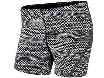 Women's Nike Luxe Running Shorts Black 616523-011 (L)