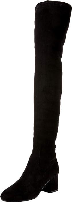 Steve Madden ISAAC Stivali sopra il ginocchio black