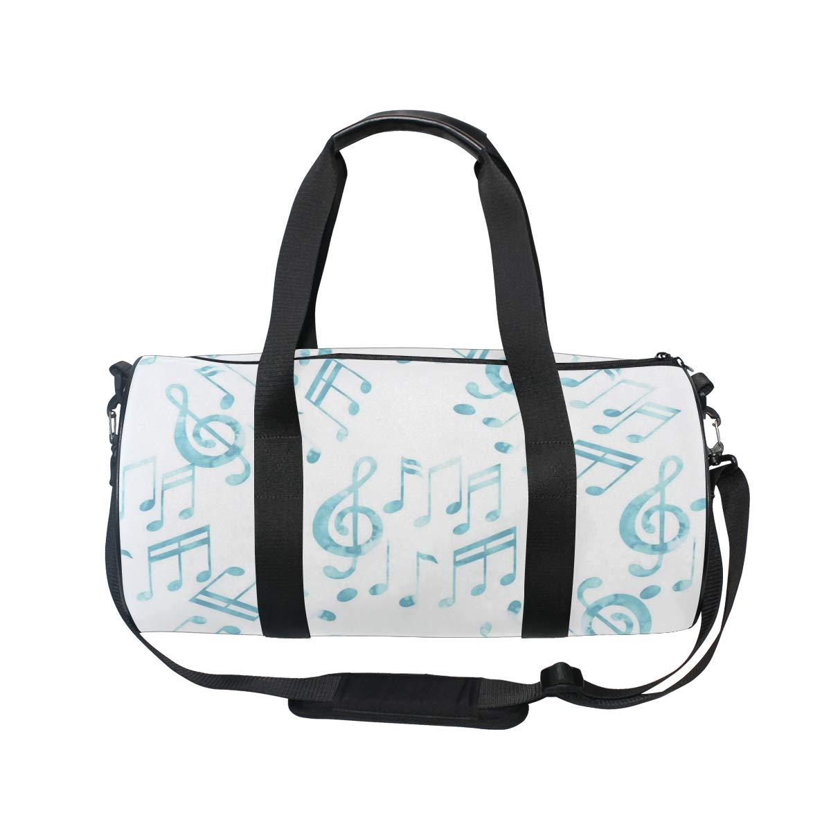 Blue Music Keyboard ImageWaterproof Non-Slip Wearable Crossbody Bag fitness bag Shoulder Bag